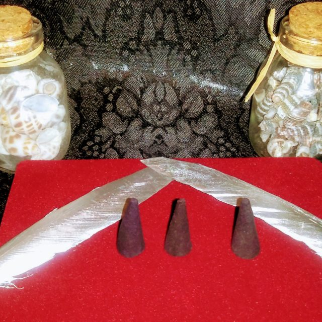 Blaccwidow Incense: Spelled Incense Moon Magick