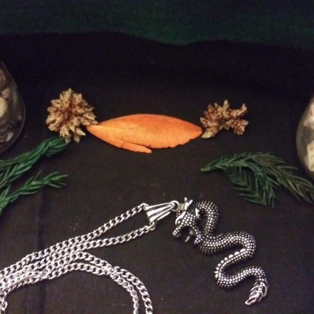 Blaccwidow Spells: Dragon Serpent Necklace